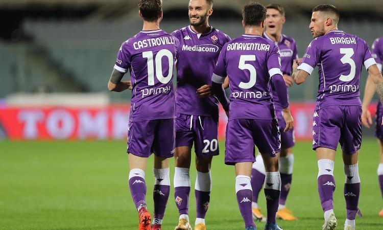 Fiorentina, anticipata la gara di Coppa Italia