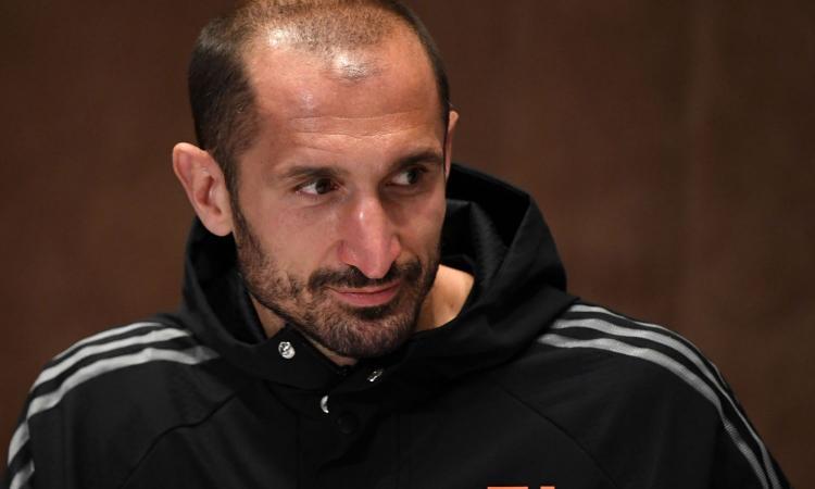 Juve, Chiellini: 'Con l'Inter importante ma non decisiva. Lukaku? Difficile marcarlo...'
