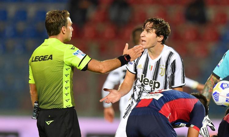 Juve, solo 1-1 a Crotone: Simy-Morata. Espulso Chiesa al debutto