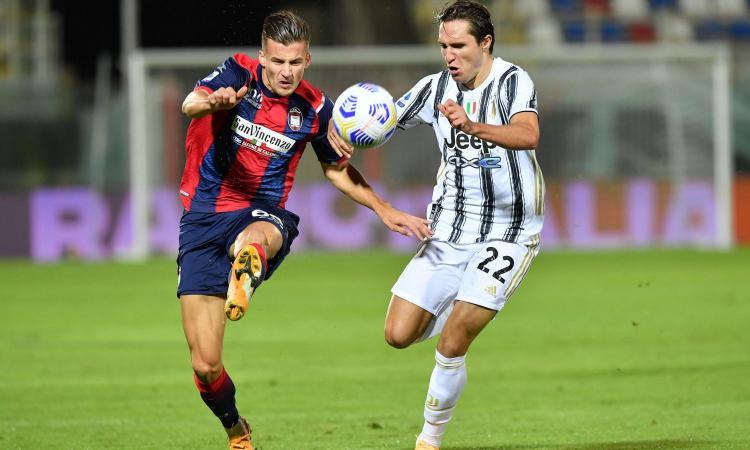 Crotone-Juventus 1-1: il tabellino