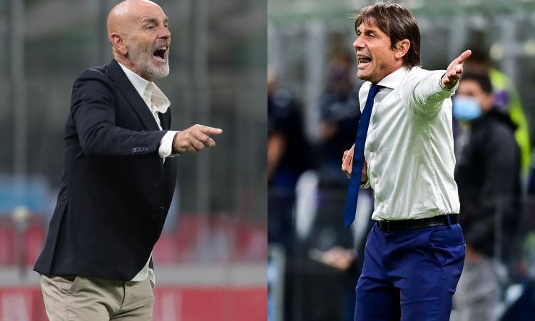 Milan e Inter, sfida a distanza per il titolo di Campione d'Inverno: in salita con l'Atalanta, in discesa con l'Udinese