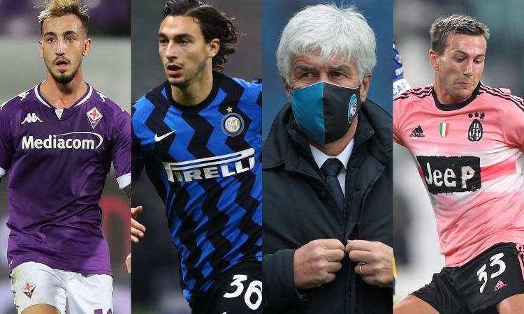 Serie A: Castrovilli onora la 10, quanta Inter tra i top! Bocciato Gasperini, ennesimo flop di Bernardeschi