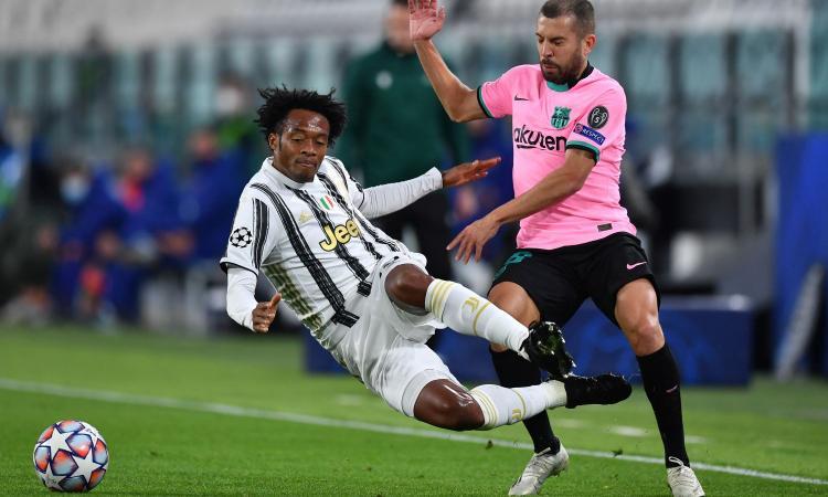 Juventus, zero tiri in porta col Barcellona