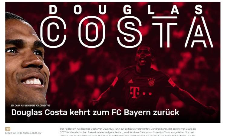 Bayern Monaco, il ds Salihamidzic: 'Douglas Costa? Più forti dell'anno scorso. Choupo-Moting bravo ragazzo'