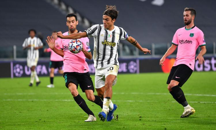 Champions: la Juve perde quota, testa a testa Lazio-Dortmund nel girone F