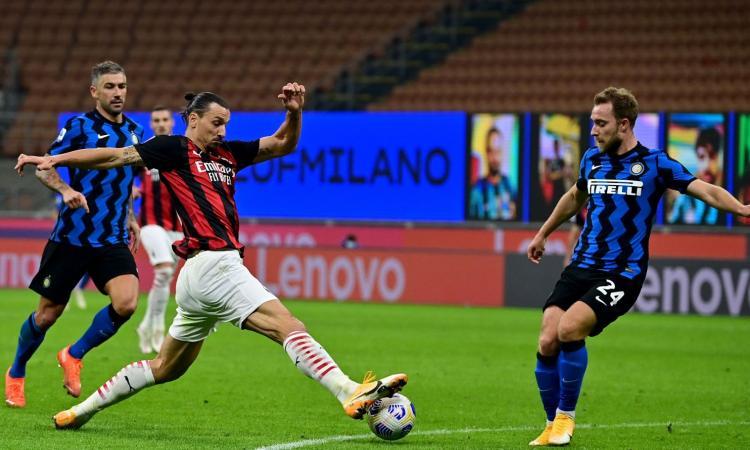 Milan-Inter, tutto pronto per il derby scudetto: Rebic e Kjaer avanti su Leao e Tomori, Eriksen dal 1'. Le formazioni