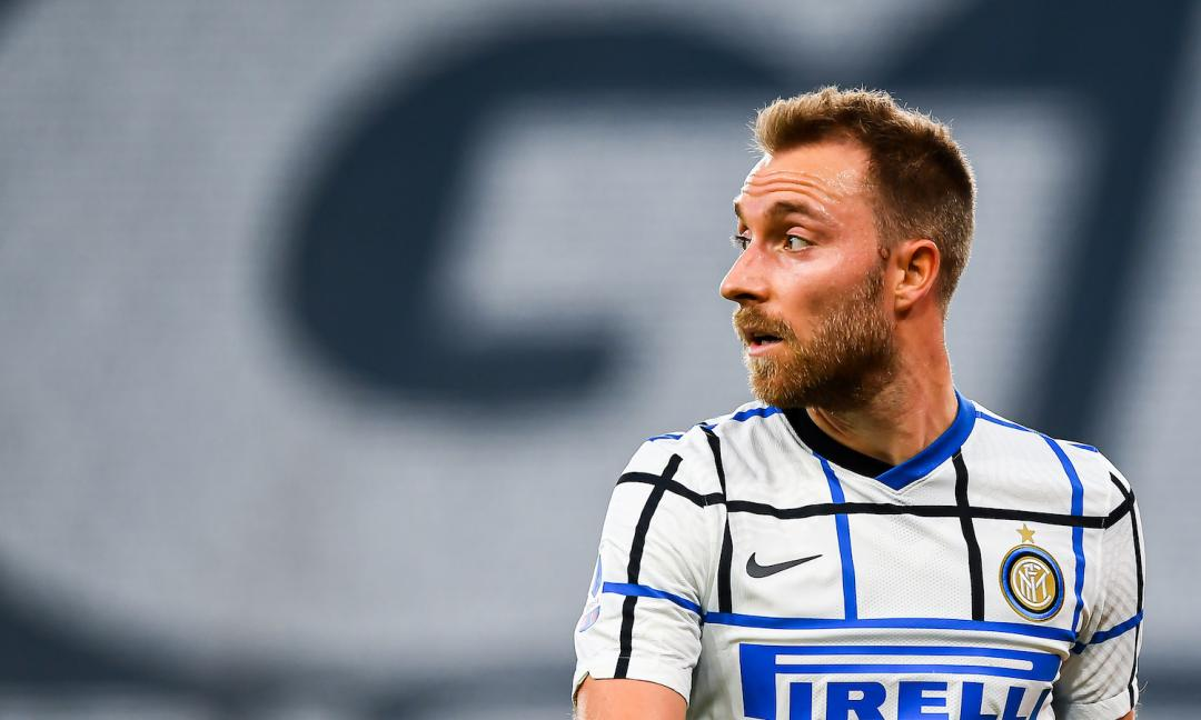 Il futuro incerto di Christian Eriksen all'Inter