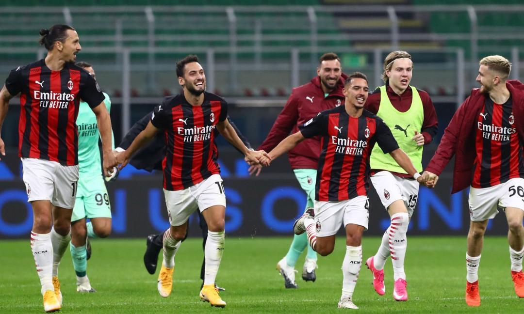 Il derby è nostro: Milano è rossonera!