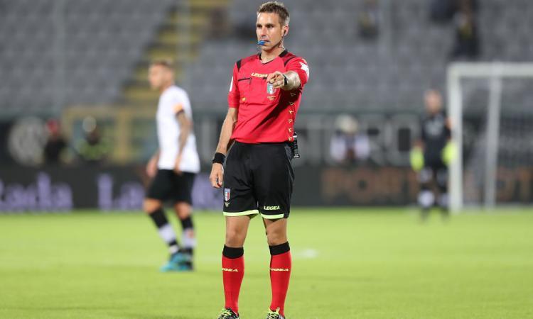 Fiorentina-Udinese a Fourneau, l'arbitro di Crotone-Juve: la designazione completa