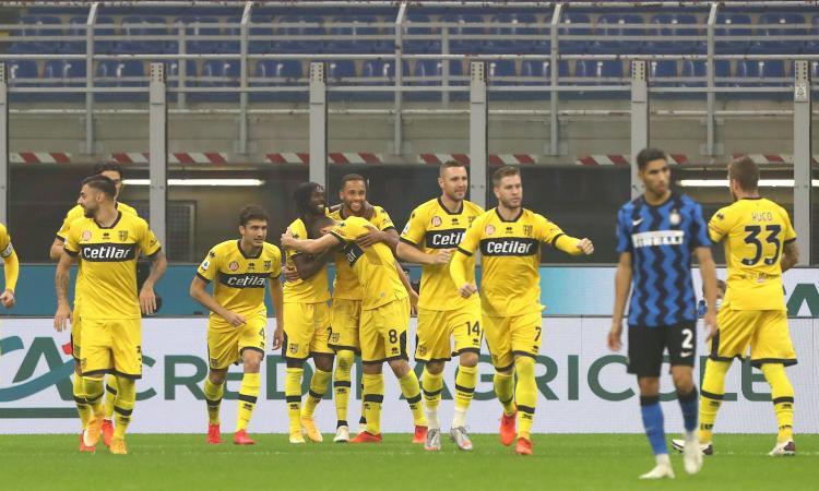 Inter, solo 2-2 contro il Parma: pari acciuffato in extremis, fallito l'aggancio al Milan