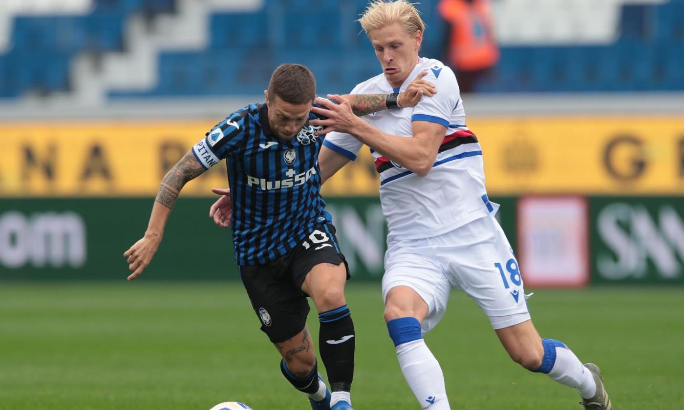 Sampdoria, Thorsby: 'Sono una 'patata', vorrei un derby al mese' | Serie A | Calciomercato.com