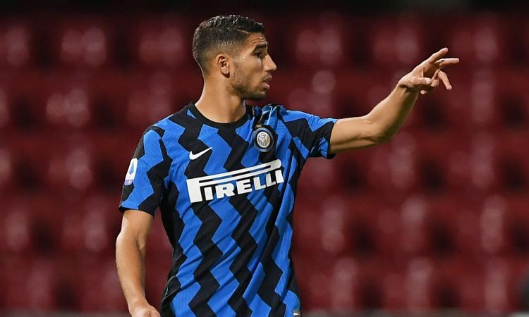 Il Real Madrid all'Inter: pagate Hakimi o ridatecelo!