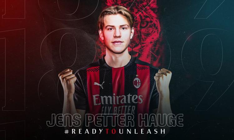 Milan, UFFICIALE: ecco Hauge. Indosserà la maglia numero 15