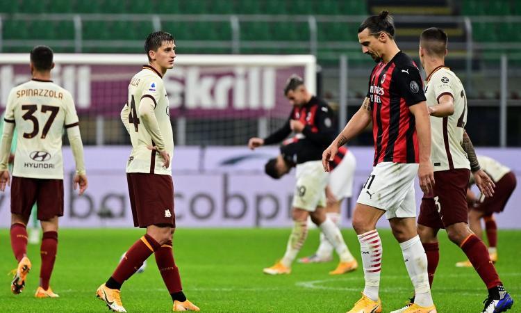 Il miglior Ibra tradisce il Milan all'ultimo, ma per la fuga è mancato solo Donnarumma