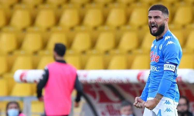 Gattuso ribalta Inzaghi: 2-1 Napoli sul Benevento, nel pomeriggio dei fratelli Insigne