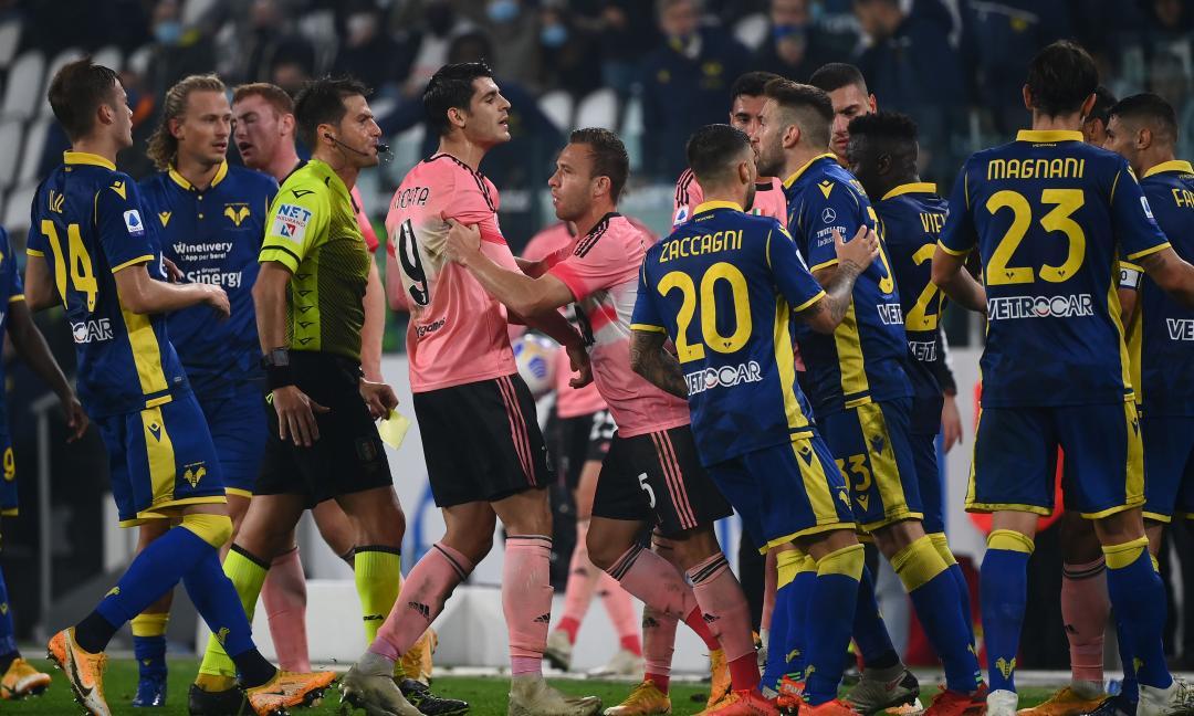 Da zero a dieci: tutti i numeri di Juve-Verona