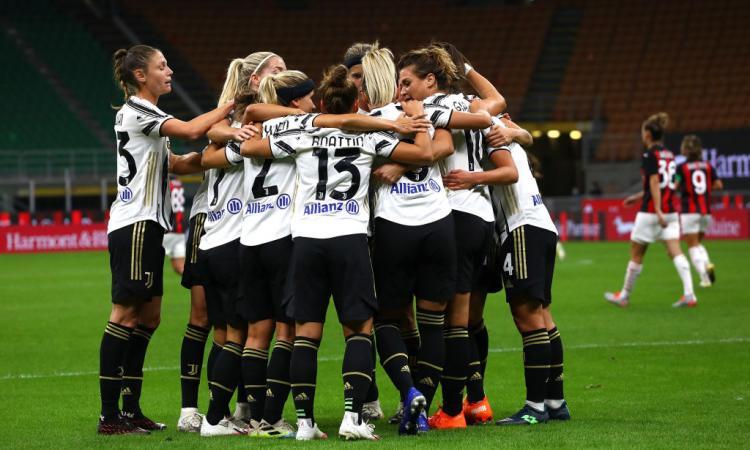 Juve Women, vittoria in Coppa Italia