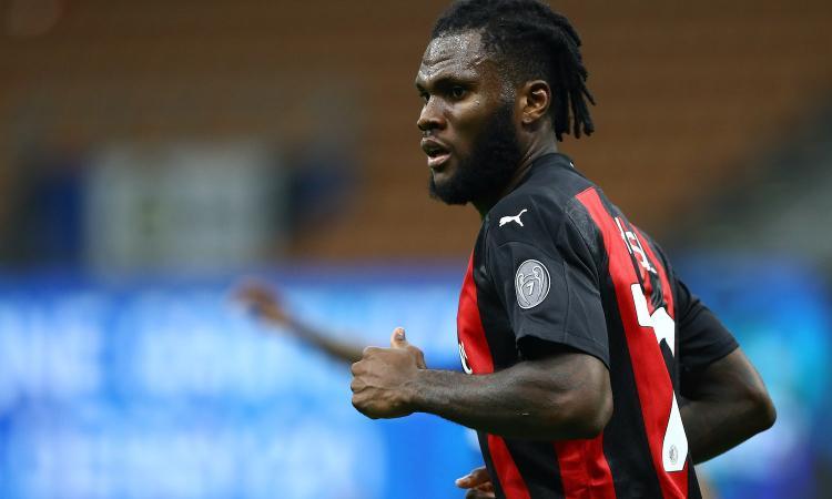 Kessie: 'Mai pensato di andare via, la maglia del Milan è una seconda pelle'