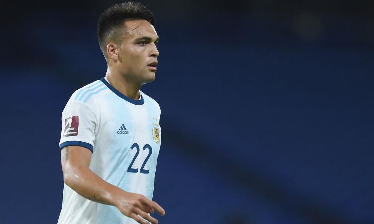 Inter, Lautaro è arrivato nel ritiro dell'Argentina: le sue condizioni