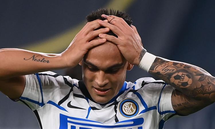 Inter, Lautaro nelle sabbie mobili: pause troppo frequenti, Conte deve lavorare sulla sua testa