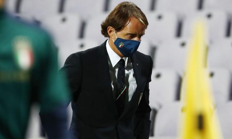 Italia, Mancini: 'I problemi con i tamponi non ci hanno condizionati, pronti per l'Olanda. Giocare a Bergamo è speciale'