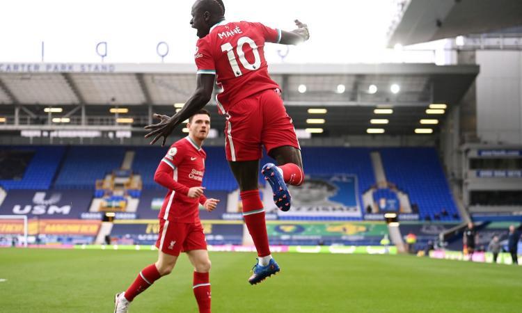 Liverpool-Leicester, le formazioni ufficiali: c'è Mané, Maddison con Vardy