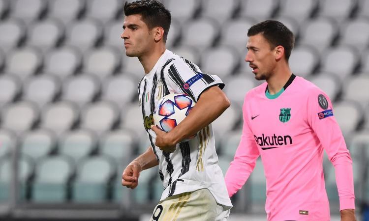Juve, Morata è sempre in fuorigioco: 5 gol annullati nelle ultime 3 partite, in Champions record negativo