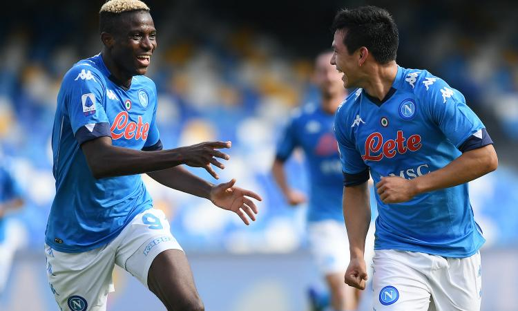 Napoli, Calenda: 'Milan? Osimhen mi ha detto che vuole giocare. C'è un punto interrogativo...'