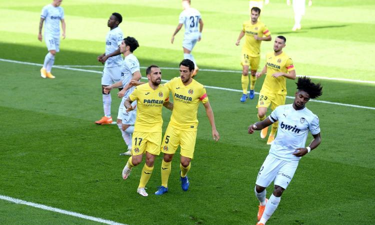 Liga: pari Eibar-Osasuna, l'Athletic Bilbao con Berenguer-gol. Villarreal e Real Sociedad vittorie e 1° posto
