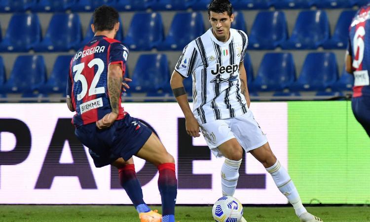 Crotone-Juve, le pagelle di CM: Morata non basta, Bonucci altro flop. Super Messias