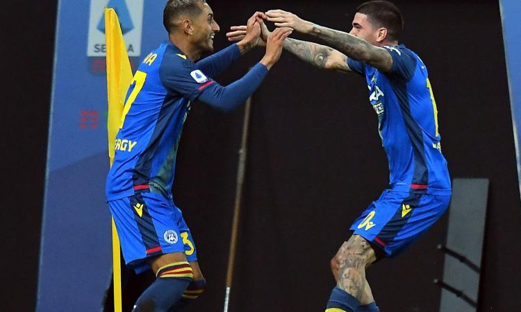 Serie A: pazzo 4-3 a Bologna, Sassuolo 2°. 3-2 Cagliari, Torino ancora a secco. Rimonta Spezia, da 0-2 a 2-2 con la Fiorentina. Udinese-Parma 3-2