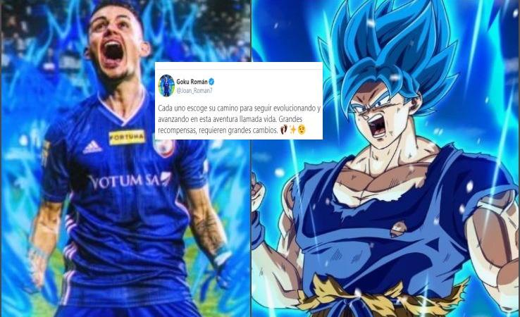 Momenti Di Gioia: Joan Roman nerd, l'ex City e Barcellona cambia nome in Goku di Dragon Ball! Gli altri 'cartoni'