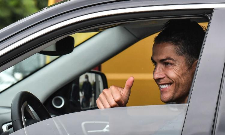 Juve: esami ok e allenamento individuale per Ronaldo, è a disposizione contro lo Spezia