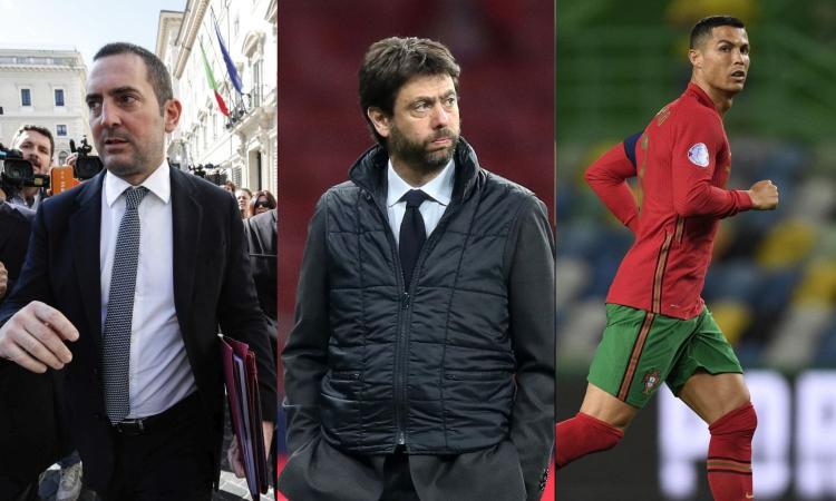 Spadafora contro Agnelli e viceversa? Mica vero: c'è Ronaldo nel mirino di entrambi
