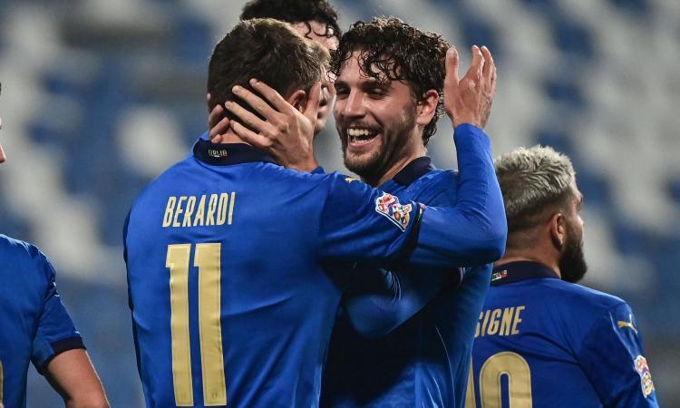 Raspadori-Locatelli-Berardi, i giocatori del Sassuolo sul tetto d'Europa. Estate del grande salto per tutti e tre?