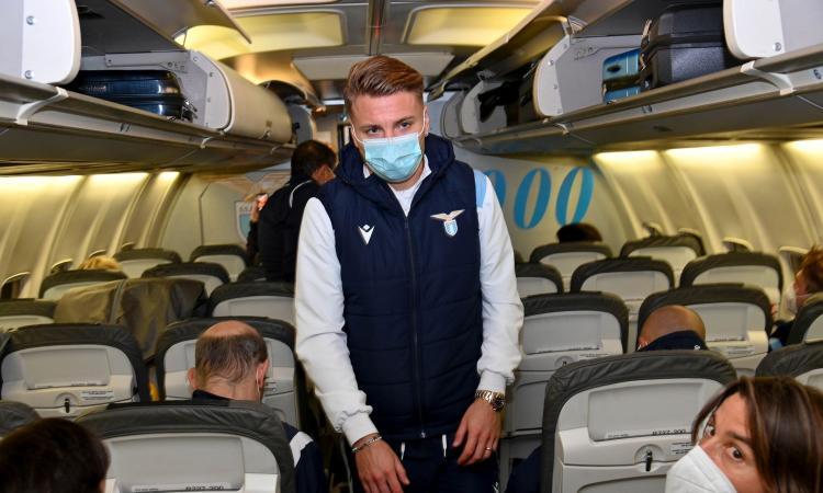 Lazio, il debutto del nuovo aereo è da dimenticare: 'Che paura!'. E al ritorno serve un volo di linea: il motivo
