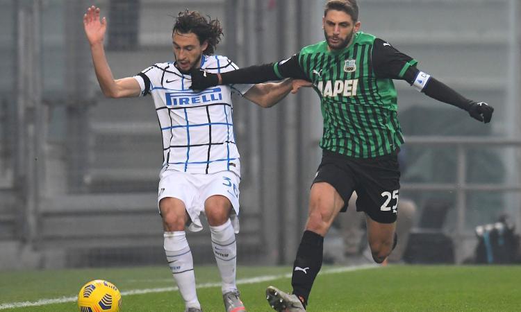Sassuolo-Inter, le pagelle di CM: Darmian stupisce, Sanchez batte un colpo. Berardi non brilla, male Consigli