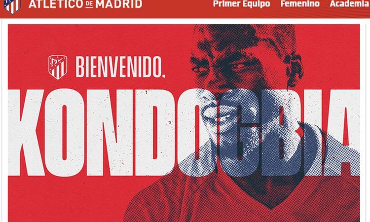 Atletico Madrid, UFFICIALE l'arrivo di Kondogbia a mercato chiuso, ma l'Inter non incassa: il motivo
