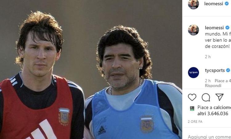 Una leggenda sudamericana non ha dubbi: 'Maradona non ha vinto l'1% di quello che ha vinto Messi'