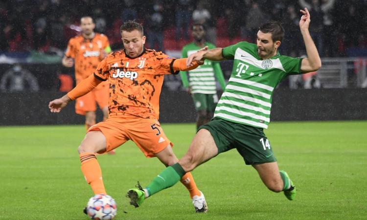 Juve: si fermano Arthur e Ramsey, le loro condizioni