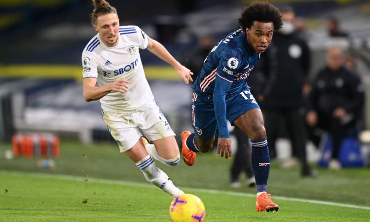 Premier League: l'Everton soffre ma vince, 3-2 contro il Fulham. West Ham ok, Leeds-Arsenal 0-0