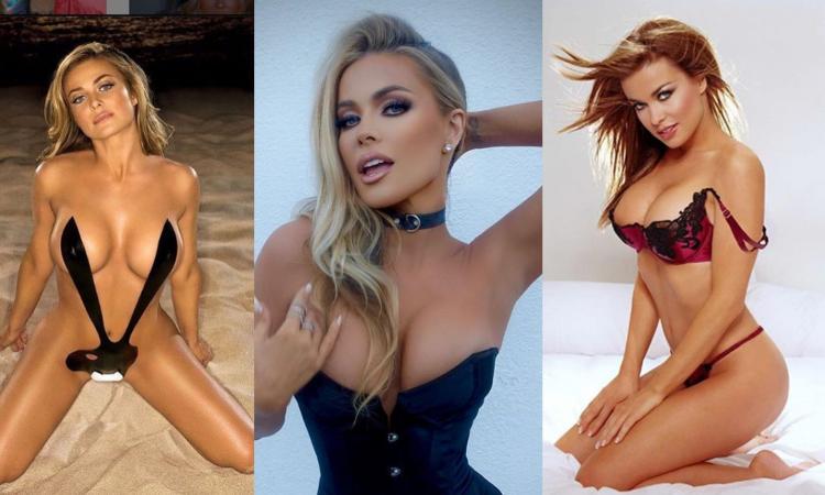 L'esplosiva Carmen Electra omaggia Playboy da coniglietta HOT 'senza veli'