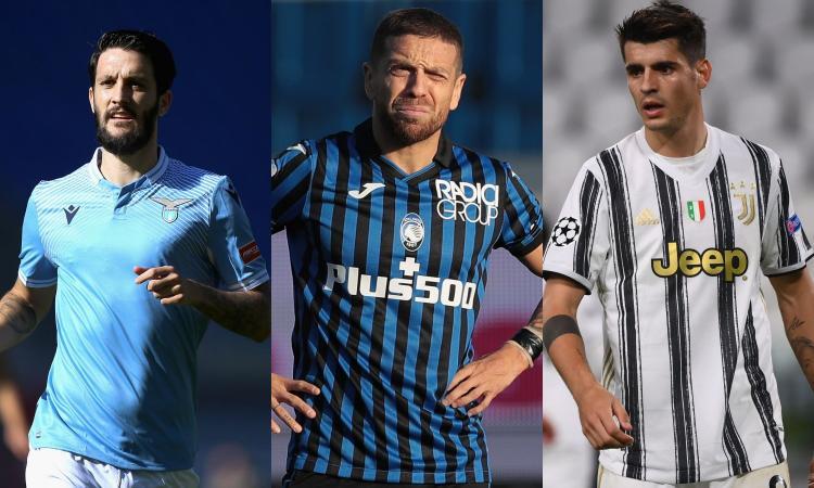 Serie A, oggi Lazio, Atalanta e Juve: le probabili formazioni e dove vederle in tv
