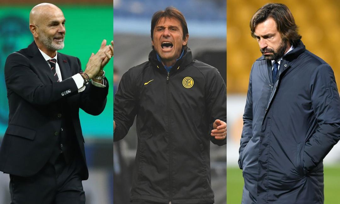 Inter e Juve, corrono in pochi... ma nel Milan corrono tutti!