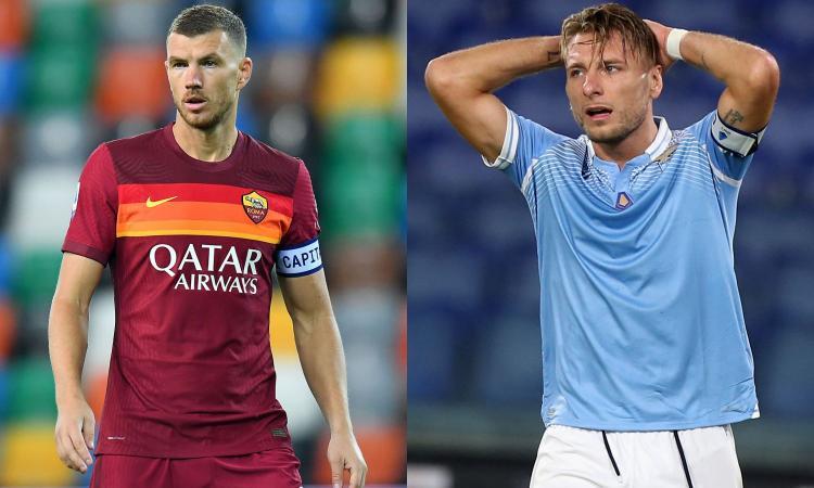 Lazio-Roma, quote da brividi: giallorossi avanti di poco, in equilibrio la sfida Dzeko-Immobile