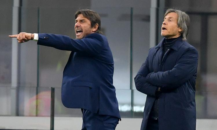 Inter, Conte: 'Diamo seguito ai risultati. Hakimi in difficolta? Ve l'avevo detto, deve imparare a difendere'