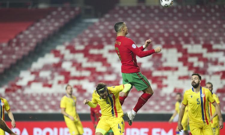Cristiano Ronaldo 'vola' a quota 746, raggiunta la leggenda Puskas