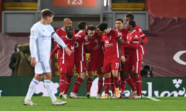 Premier, il Liverpool riparte: 3-0 al Leicester, Klopp aggancia Mou in vetta