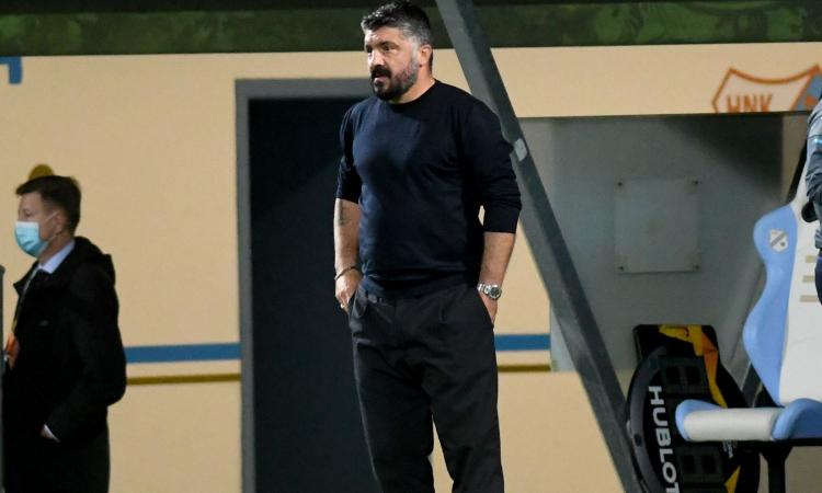 Napoli, alta tensione tra Gattuso e i giocatori: 'Me ne vado?'