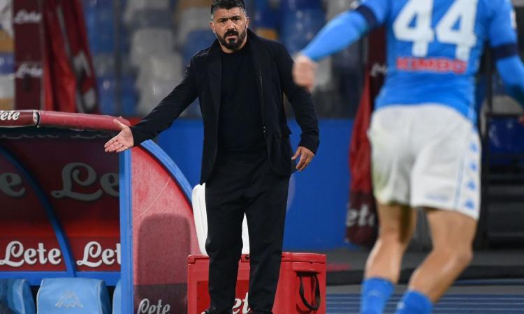 Gattuso: 'C'è un problema, sbagliamo tutti i big match. Ibra vs Koulibaly? Gomitata da Tyson, ma colpa è nostra'